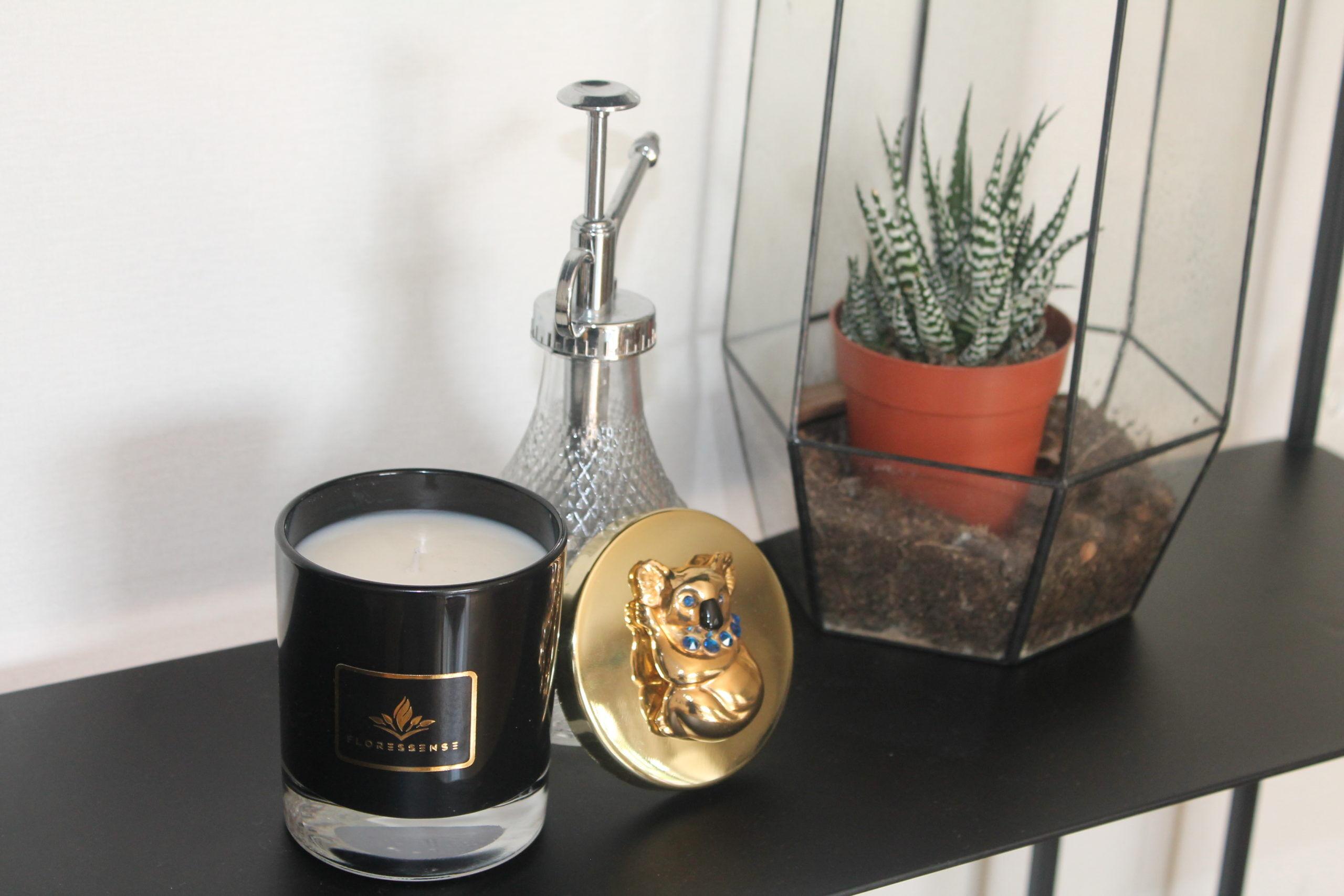 Floressense - bougie parfumée luxe - koala or