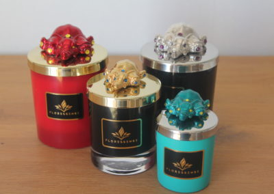Floressense - bougie parfumée luxe -éléphant