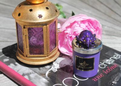 Floressense - bougie bijou luxe - elephant violet