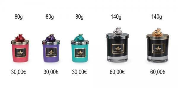 Floressense - bougie parfumée luxe - bougie bijou luxe - bougie décorative luxe - collection grenouille