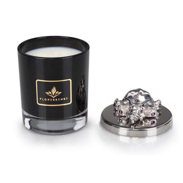 Floressense - bougie parfumée luxe - éléphant argent (2)