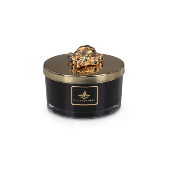 Floressense - bougie parfumée luxe - éléphant or 400g