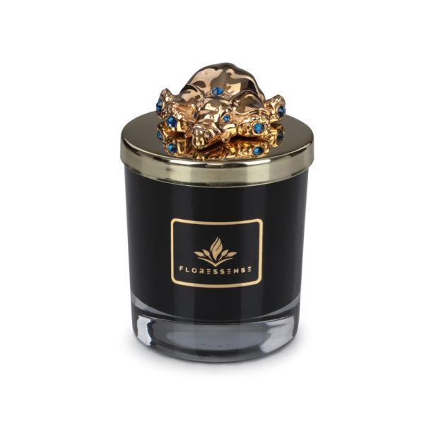 Floressense - bougie parfumée luxe - éléphant or