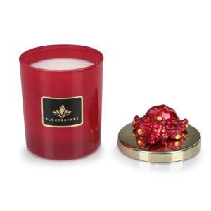 Floressense - bougie parfumée luxe - éléphant rouge
