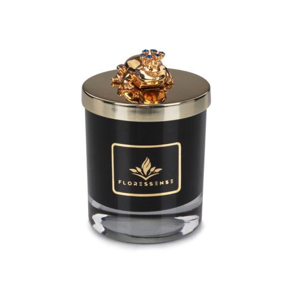 Floressense - bougie parfumée luxe - grenouille or