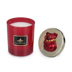 Floressense - bougie parfumée luxe - koala rouge